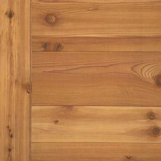 American Pacific 4' x 8' Western Red Cedar Plywood Paneling