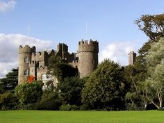 Howth Castle in Dublin