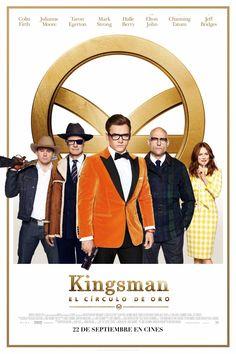 ~ Kingsman: El Círculo de Oro ~ [ 5,9 ] Arenas Multicines, 28/09/2017