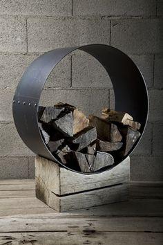 Log rack - wood stack