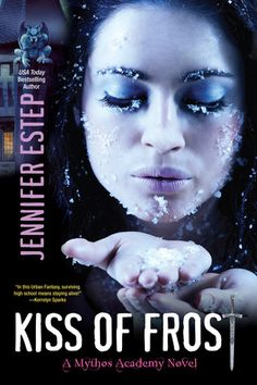 Mythos Academy #2 Kiss of Frost http://www.goodreads.com/book/show/10421530-kiss-of-frost