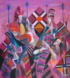 Kagarov MEDAT.  Artesanías nacionales Russian Art, Art Gallery, Artist, Artwork, Crafts, Painting, Art Museum, Work Of Art, Manualidades