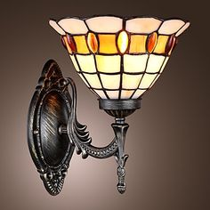69.13$  Watch here - http://ali8dl.shopchina.info/go.php?t=2026311198 - Tiffany LED Vintage Wall Lamp For Bedroom Home Lighting Retro Wall Sconce Arandela Lampara Pared  #SHOPPING