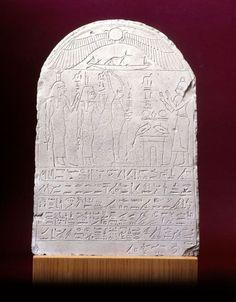 Stela of Djedher                                      Date:                      circa 280 BC                                                                                                    Medium:                     limestone