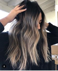 New Hair Balayage Blonde Summer Haircolor Ideas Brown Blonde Hair, Brunette Hair, Balayage Hair Brunette Long, Black To Blonde Hair, Ashy Balayage, Cabelo Ombre Hair, Ecaille Hair, Brown Hair Colors, Messy Hairstyles