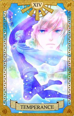 Temperance, Legend of Zelda, Tarot artwork by 空谷 (Kuukoku)