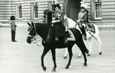 The Queen riding Birmese, one of the Queen's favourite horses. More favourites at http://www.horseandhound.co.uk/features/15-of-the-queens-favourite-horses-482896