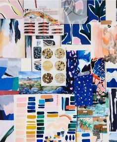Cassie Byrnes Textile design Mood Board Inspiration