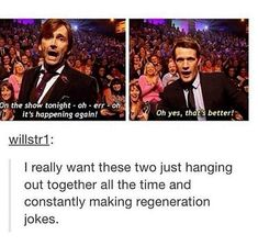 The two of them was the best bromance ever seen in Doctor Who.