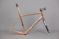 Copper bling ! custom bikes | English Cycles