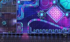 ArtStation - Starfinder RPG Maps, Damien Mammoliti