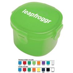 USA Made Snack Container | Eco Promotional Products, Environmentally and Socially Responsible Promotional Products