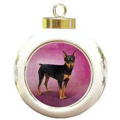Each Ornament includes a ribbon loop to easily hang from your Christmas tree. Ceramic Ornament. | eBay!