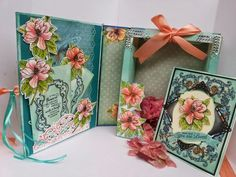 a shadow box book card by anitak160 - Cards and Paper Crafts at Splitcoaststampers