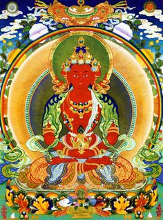 Amitayus (Buddha of Long Life)