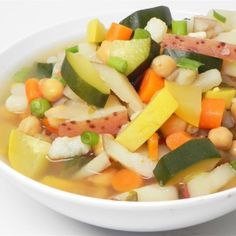 Hearty Chicken Vegetable Soup III