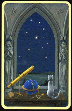 Significado Carta Tarot LENORMAND - Las Estrella                              …