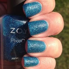 Zoya Summer 2013 Pixie Dust Collection- The Matte Sparkle Polishes