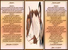 DUETO - ESCREVE/// ESCREVE, POETA! ( MARSOALEX & NIEVI) - Encontro de Poetas e Amigos