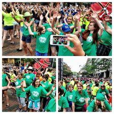 Twitter / SpokaneHoopfest: Flashmob