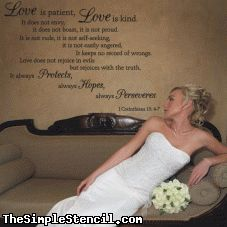 Corinthians Bible Verse for Wedding decor or photo backdrop