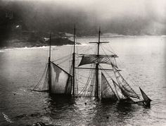 shipwreck of The Mildred, Gurnards Head, 1912, from Newport to London. Picture: The Gibsons of Scilly