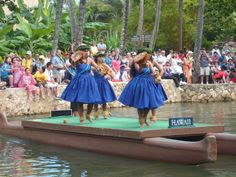 This was the start of the River Parade at the PCC - Hawaii