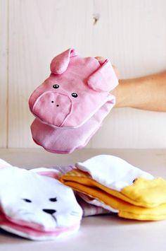 Piggy Pot Holders