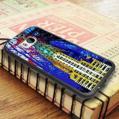 Building Newyork City Art HTC One M8 Case