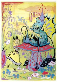 Camille Rose Garcia-Alice in Wonderland