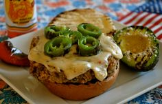 "Happy Fourth of July & Ordinary Vegan ""Some Like It Hot"" No Beef Jalapeño Burger"