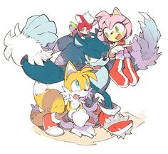 Sonic the Werehog Sonic Funny, Sonic 3, Sonic And Amy, Sonic Fan Art, Sonic The Hedgehog, Sonamy Comic, Sonic Unleashed, Gamers Anime, Sonic Franchise