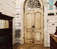 Authentic Reclaimed Doors Vintage Doors, Antique Doors, Front Door Entryway, Mtv Cribs, Reclaimed Doors, French Doors, Master Bathroom, Antiques, Home Decor