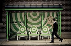 Absolut Bus Shelter, Chicago.