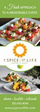 A Spice of Life Catering + Events - Colorado Wedding & Special Event Catering