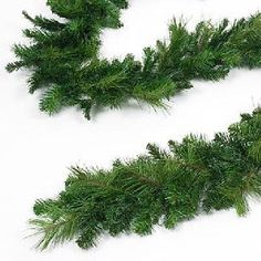 "New Artificial 9"" Wide 9' Mixed Pine Garland"