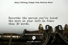 A collection of fun and interesting writing prompts...updates every wednesday at spinningjenni.com