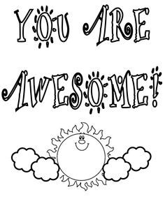 thank you coloring pages 05 Cool Things Pinterest