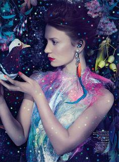 Smile: Mia Wasikowska in Vogue Australia March 2014 by Emma Summerton