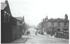 View from Newchurch Street across Blackburn Street to Green Street
