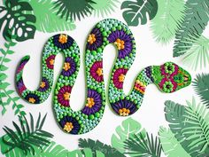 Quilled Rainforest Snake