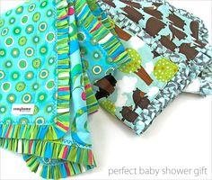 Cute+Ruffled+Edge+Baby+Blanket