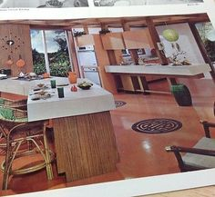 Vtg 1960s Real Estate Brochure Mid Century Kitchens Chicago Arlington Heights IL | eBay