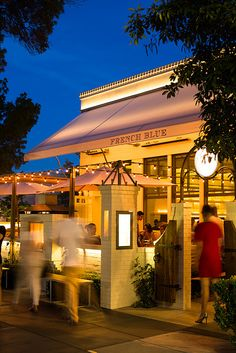 Another Napa Valley favorite is French Blue, St. Helena.