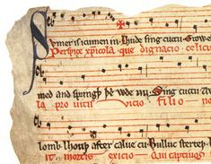 Medieval musical notes ['Synge we now alle and sum': Three Fifteenth-Century Collections of Communal Song]