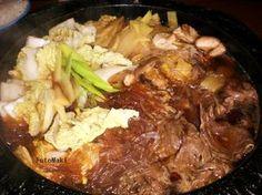 Sukiyaki - Japanilainen fondue Kotikokki.netin nimimerkki Dr. Styrangin ohjeella