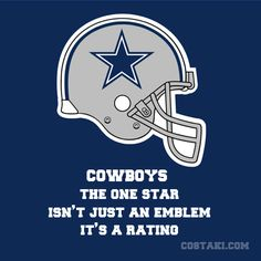 New Team Slogan: DALLAS COWBOYS