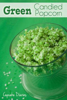 My mom and twin sister were in town this weekend and we decided to make a bunch of St. Patrick's Day goodies! We've always wanted to try candied popcorn, so we whipped up a batch and made it green. I love how it turned out, in flavor and color! This is a great recipe... Read More »