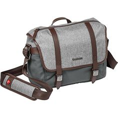 Manfrotto MB LFWNMS camera messenger bag for CSC Lifestyle Windsor S grey * For more information, visit image link. (Note:Amazon affiliate link)