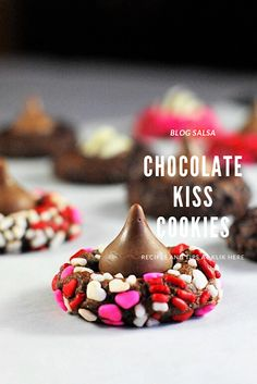 Chocolate Kiss Cookies | Cookie Recipes For Kids, Cookie Recipes Creative, Cookie Recipes Videos, Cookie Recipes Holiday, Cookie Recipes Brownie, Cookie Recipes Vegan, Cookie Recipes Oreo, Cookie Recipes No Eggs, Cookie Recipes Pumpkin, Cookie Recipes Gluten Free, Cookie Recipes Bar, Cookie Recipes Coconut, Cookie Recipes Summer, Cookie Recipes Soft, Cookie Recipes Fun, Cookie Recipes Halloween, Cookie Recipes Cowboy, Cookie Recipes For Decorating, Cookie Recipes Banana, Cookie Recipes Coffee, C Chocolate Kiss Cookies, Dough Balls, Salsa Recipe, Unsweetened Cocoa, Baking Sheet, Holiday Festival, Holiday Treats, Oreo, Cookie Recipes